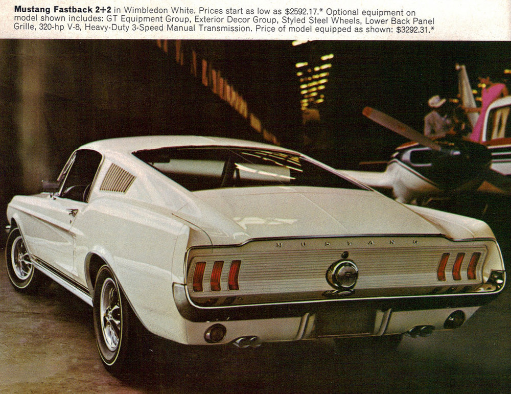 1967 Mustang fastback 2+2