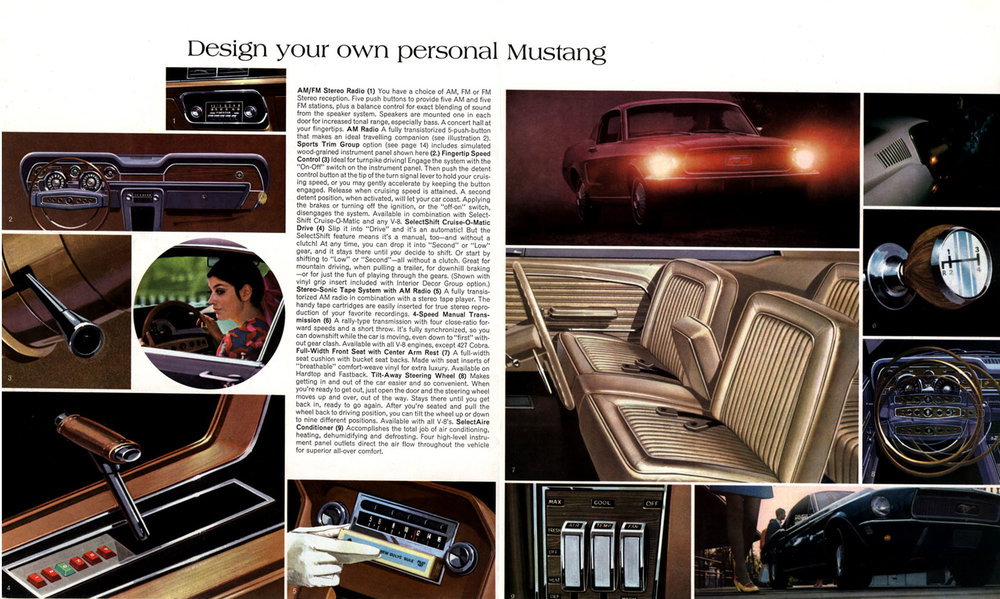 1967 - design your own personal Mustang
