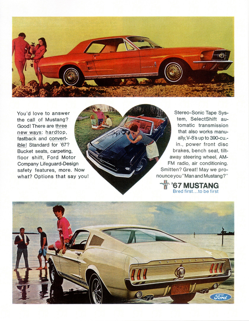 1967 Mustang - bred first, to be first