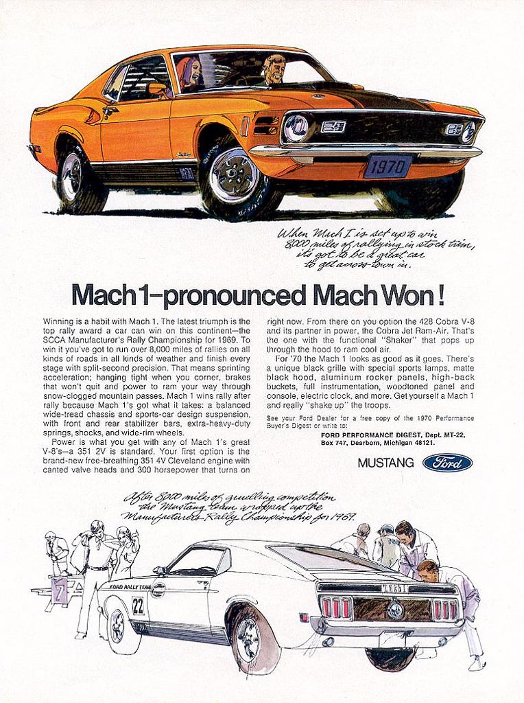 1969 Mustang Mach 1 - 351 4V Cleveland, or 428 Cobra Jet?