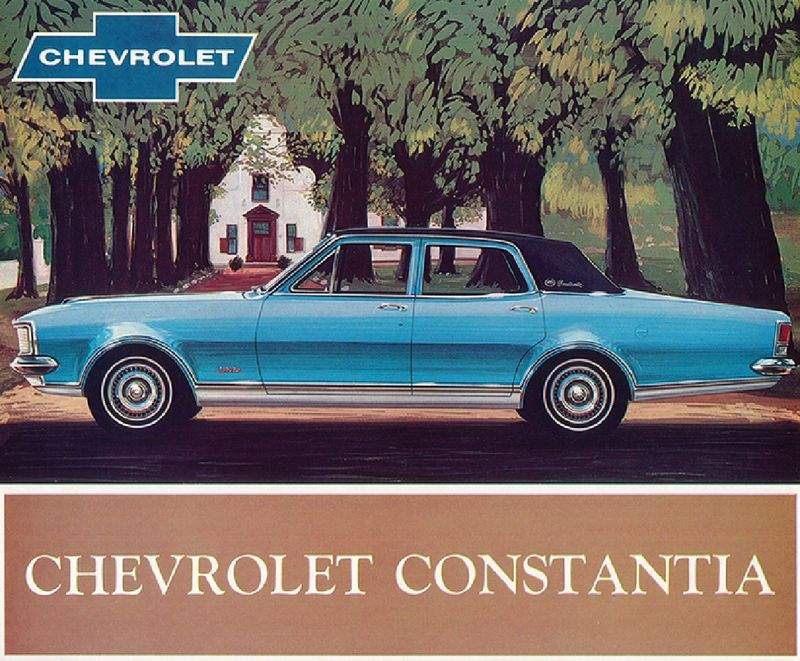 The Brougham - sold as a Constantia. Chevrolet V8 powered of course