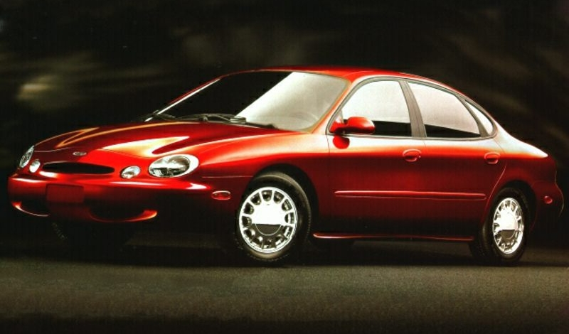 The ugly 1997 Taurus on which Nasser suggested Ford Australia base the AU Falcon