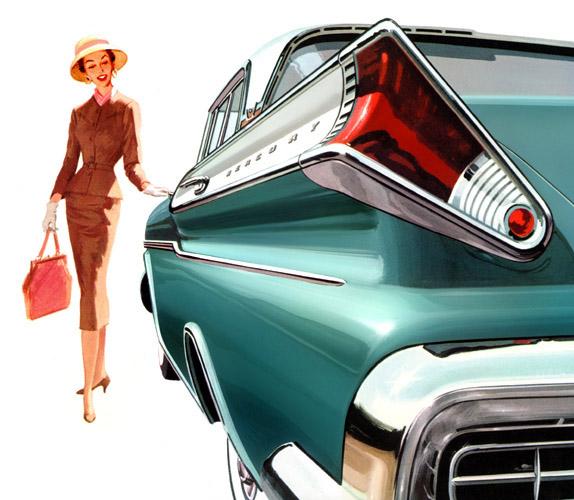 1957 Mercury Tunrpike Cruiser