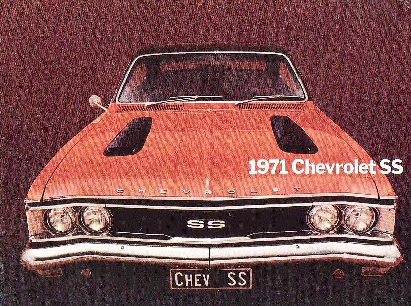 Chev SS...that was also sold as a Holden Monaro in South Africa - go figure...
