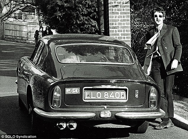 Paul McCartney's Aston Martin DB6
