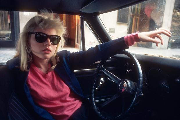Deborah Harry in a 1968 Camaro