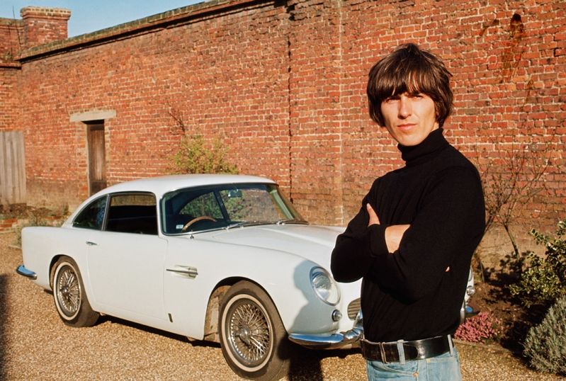 George Harrison and his Aston Martin DB5