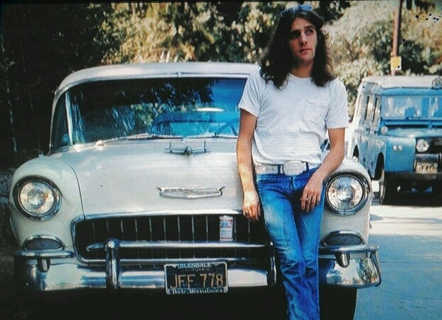 The Eagles' Glenn Frey and his ol' 55