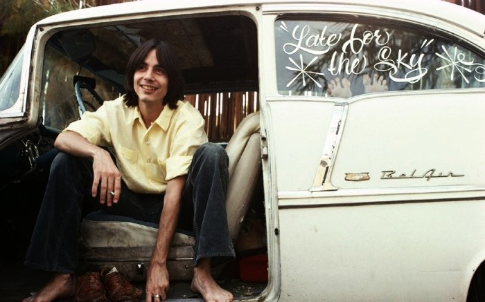 Jackson Browne and his '55 Belair two door