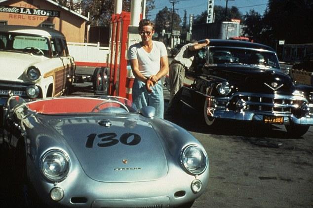 James Dean - Porsche Spyder