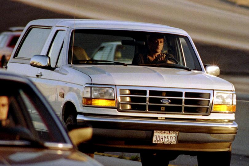 OJ Simpson's Ford Bronco