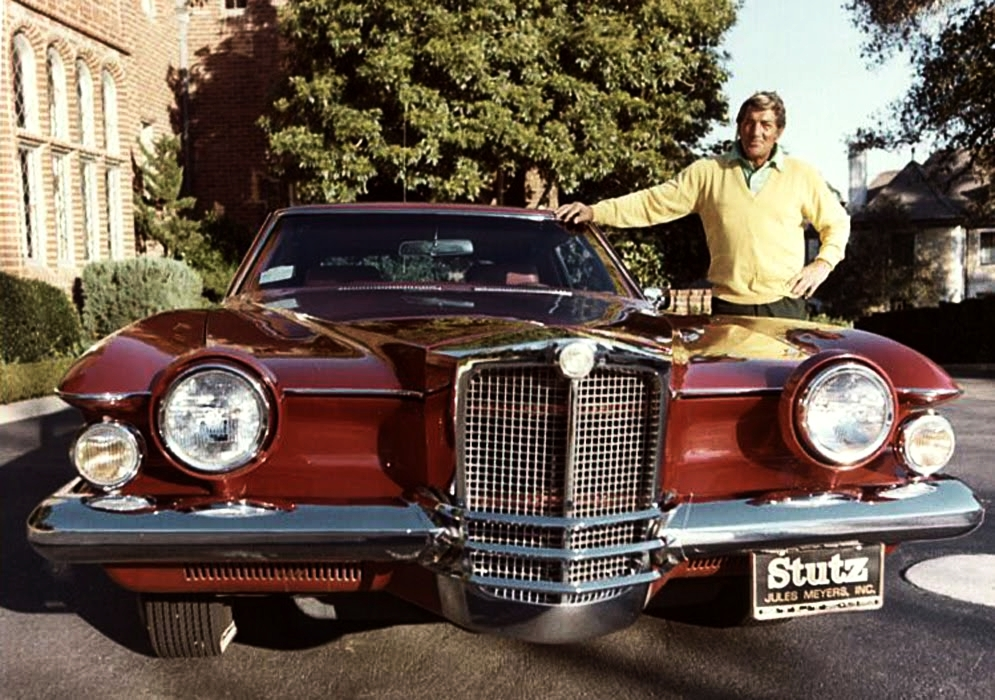 Dean Martin with '76 Stutz Blackhawk