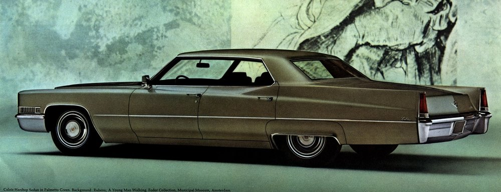 A 1969 Calais four door hardtop - one of 278,000 Cadillacs sold in that record year.