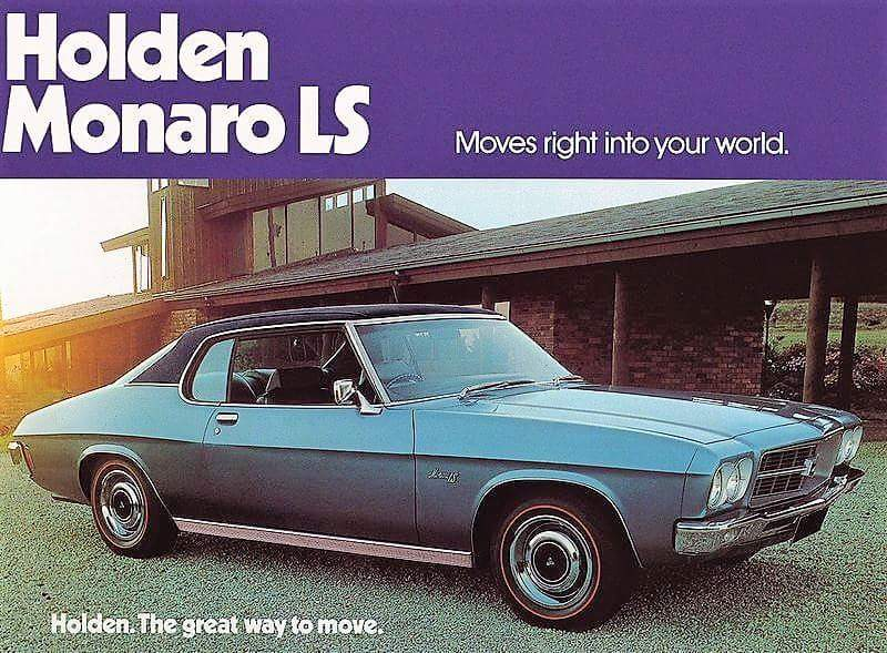 1972 HQ Monaro LS - moves right into your world