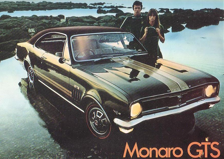 1969 hf Monaro GTS -with optional vinyl roof