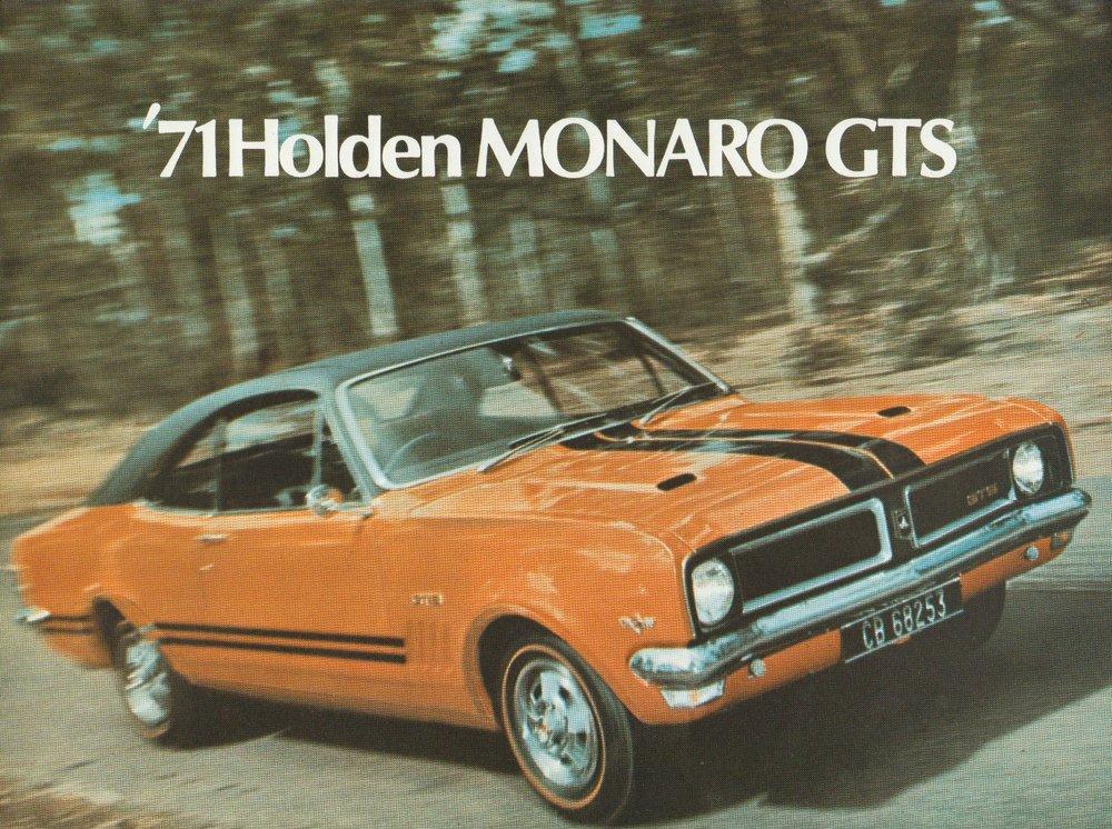 1971 HG Monaro GTS