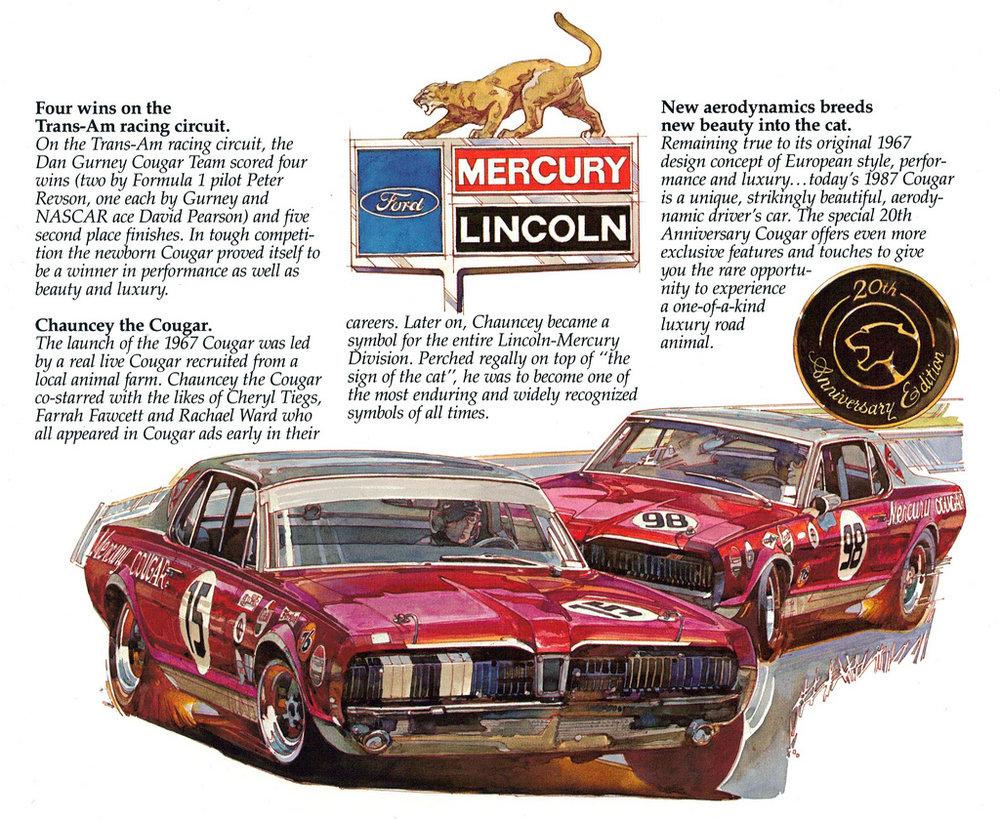 Mercury Cougar 20th Anniversary