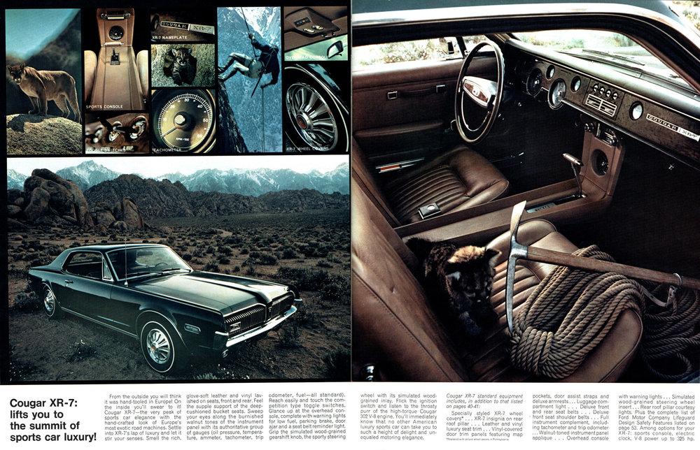 1968 Courgar XR-7 - summit of sports car luxury