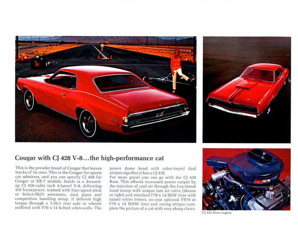 1969 Cougar with CJ 428 V8 (CJ for Cobra-Jet)