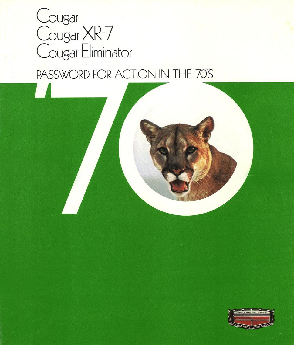 1970 Mercury Cougar range - take your pick