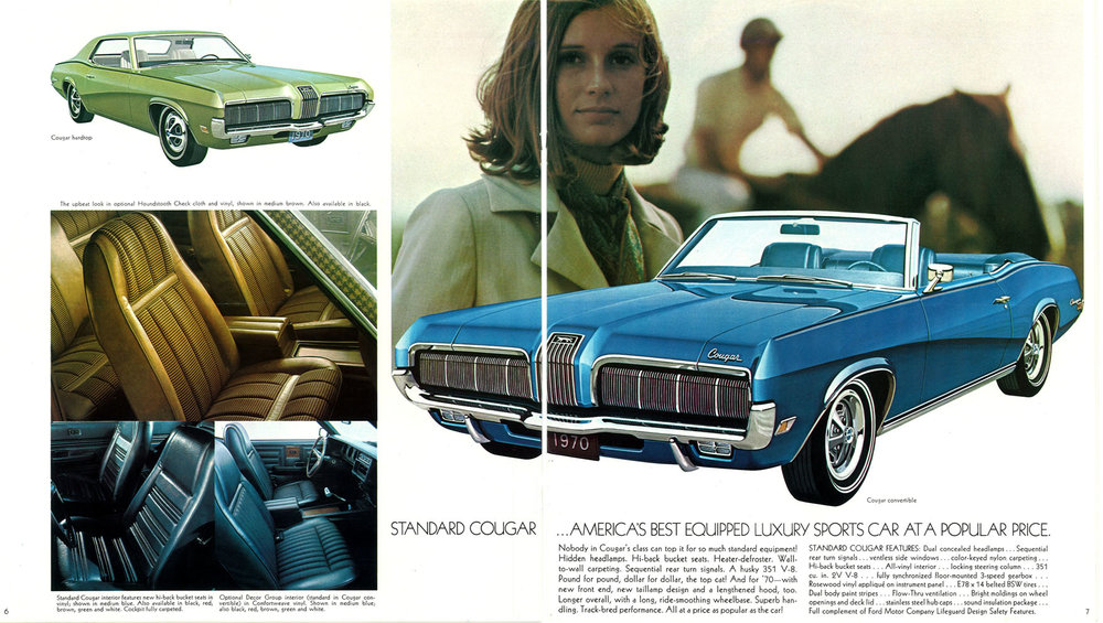 1970 standard Cougar