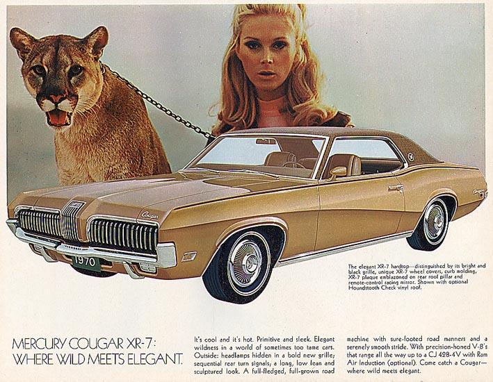 1970 Mercury Cougar - where wild meets elegant