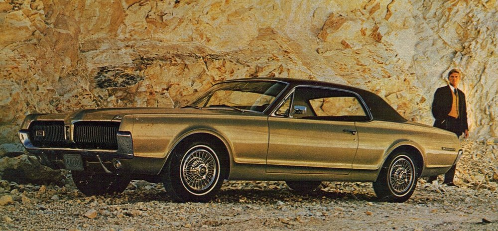 1967 Cougar - two door hardtop with 'Oxford' roof