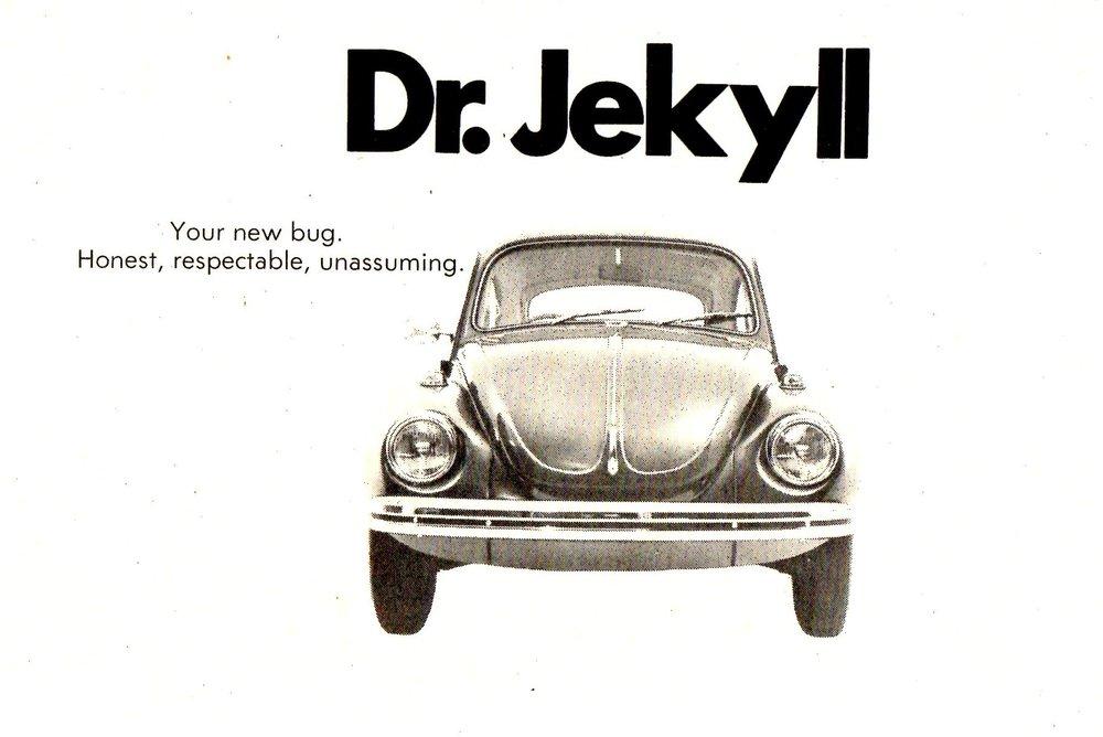 1971 VW Beetle - Dr Jekyll