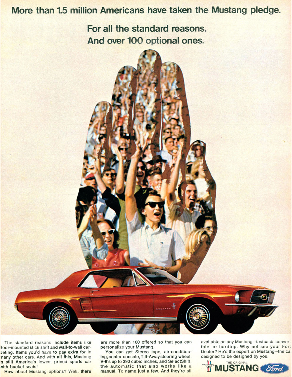1967 - take the Mustang pledge!