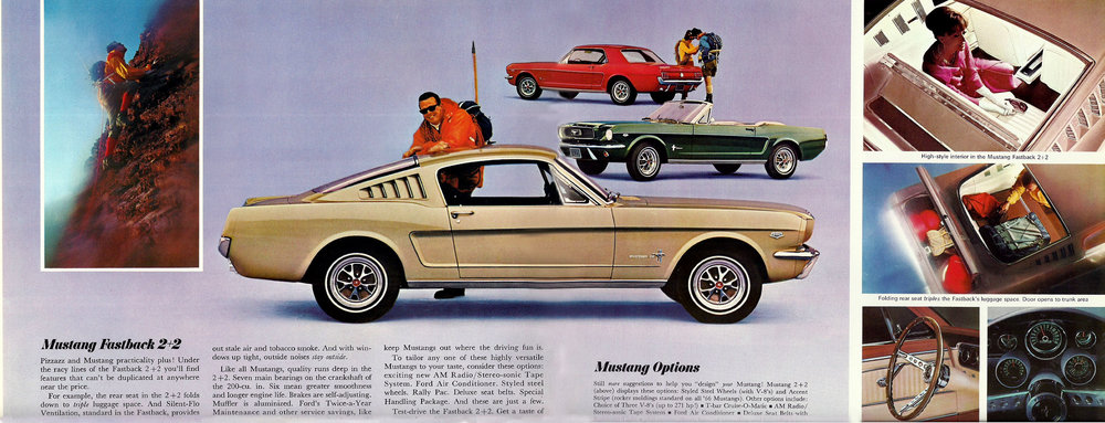 1966 Mustang Fastback 2+2 options