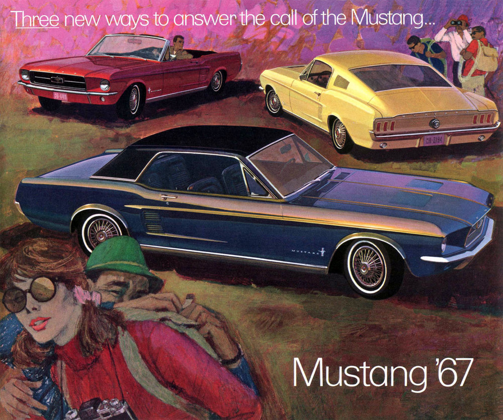 Three ways to answer the call of the Mustang for 1967