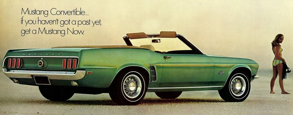 1969 Mustang convertible - get one now