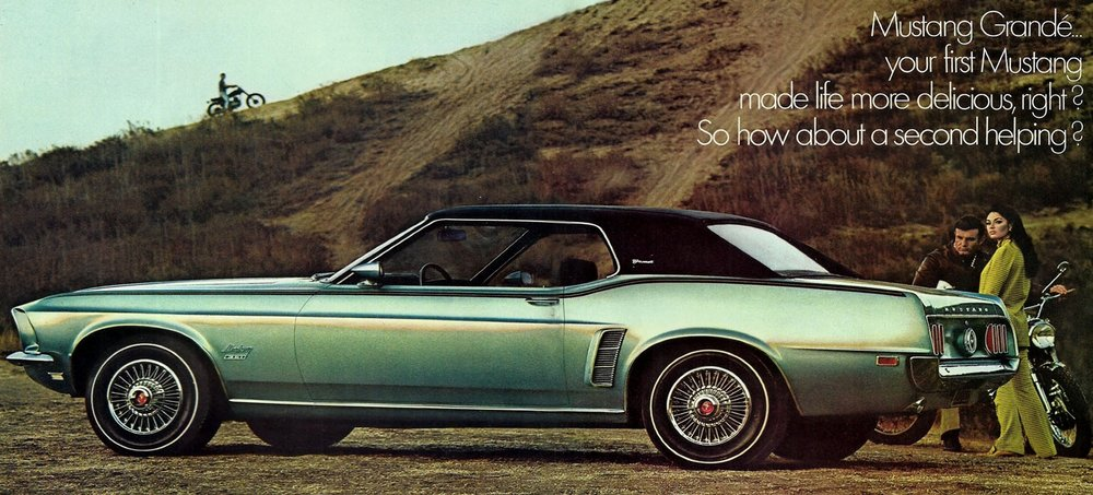 1969 Mustang Grande - how about a second helping?