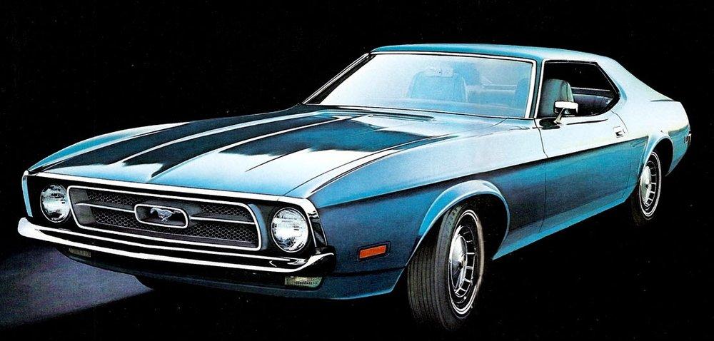 1972 Mustang Grande