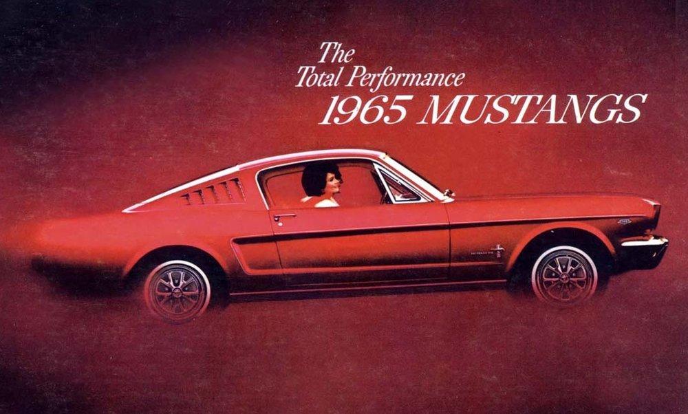 Total Performance 1965 Mustangs