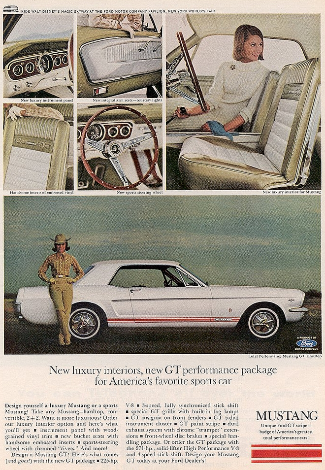 1966 Mustang GT performance package