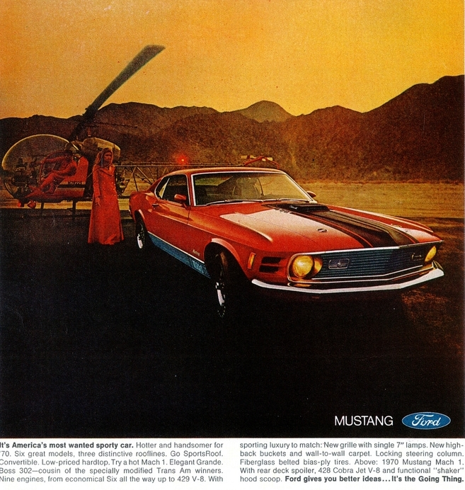1969 Mustang - America's most wanted sporty car