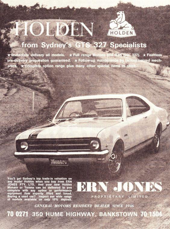 Ern Jones - Sydney's GTS 327 specialists