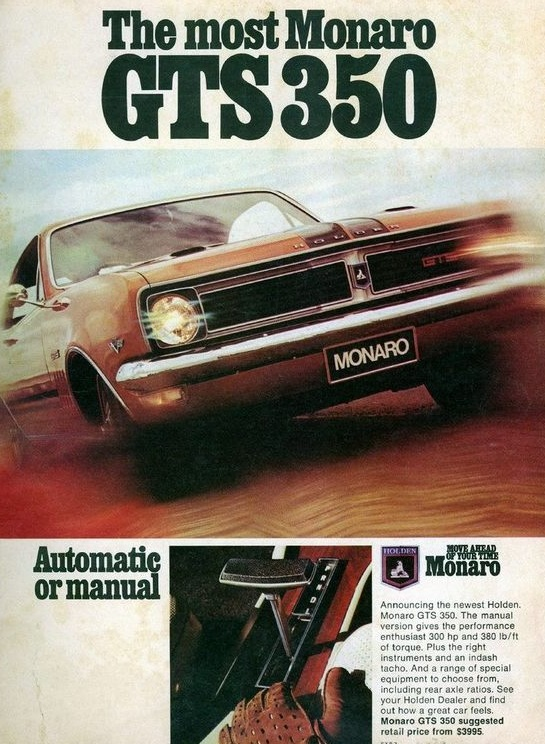 HT GTS 350 Monaro - the most