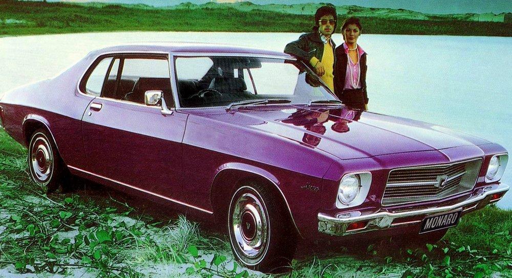 1972 HQ Monaro coupe