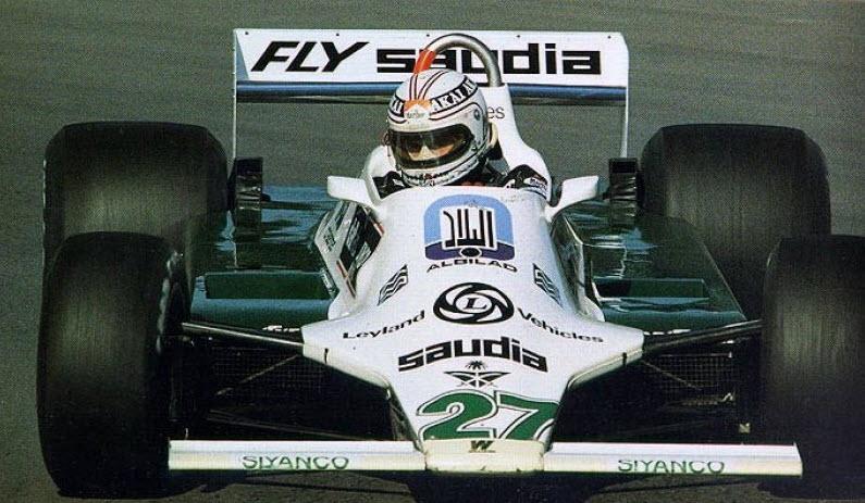 1980 - Albilad Williams Racing Team