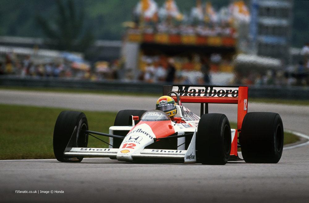 1988 - Honda Marlboro McLaren
