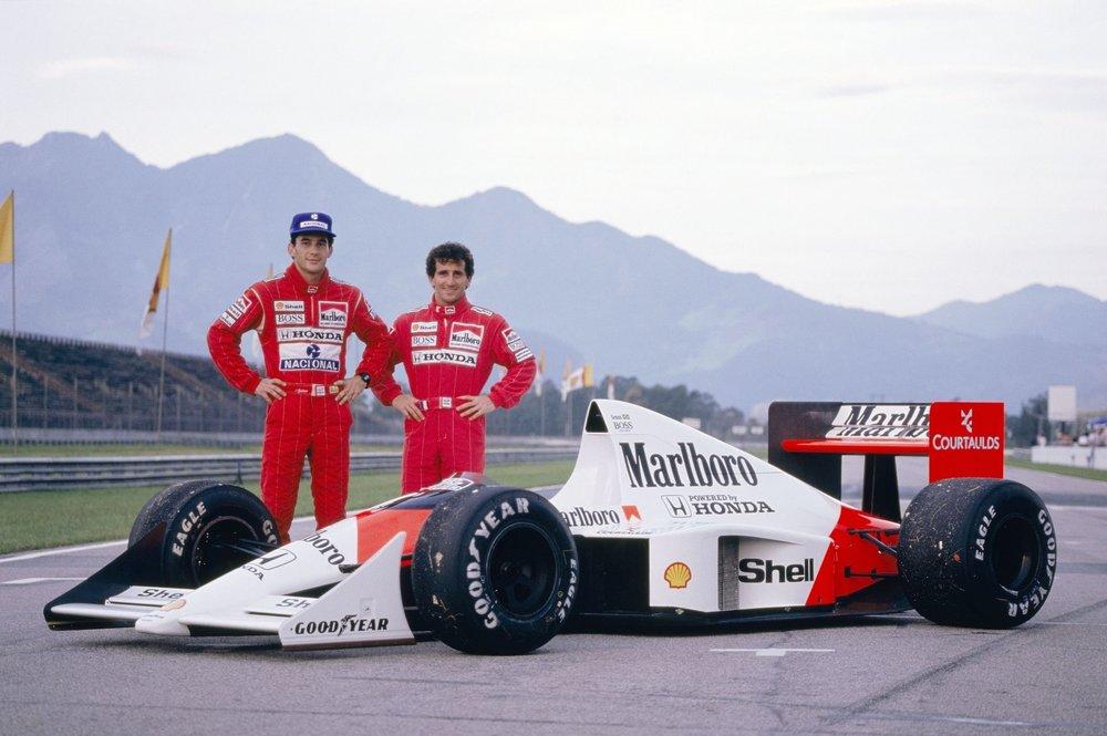 1989 - Honda Marlboro McLaren