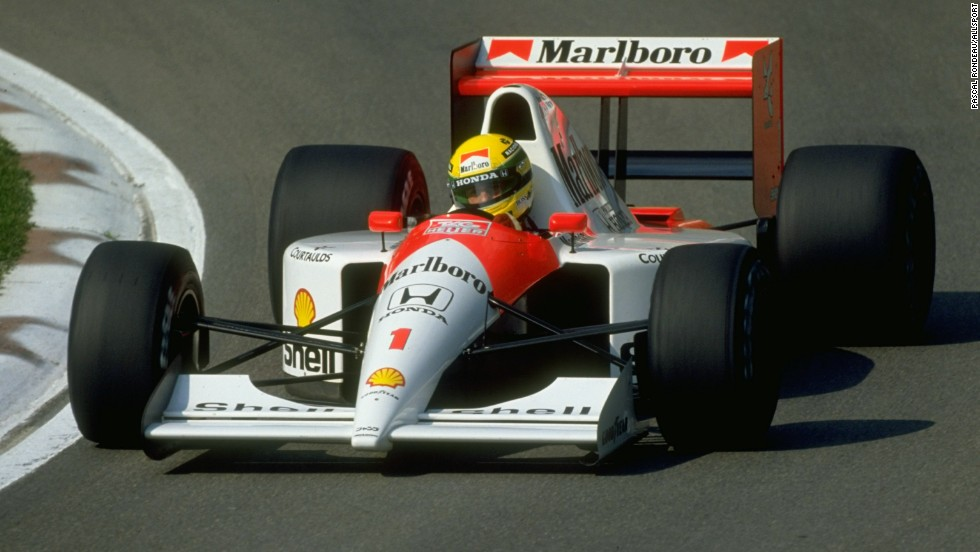 1990 - Honda Marlboro McLaren