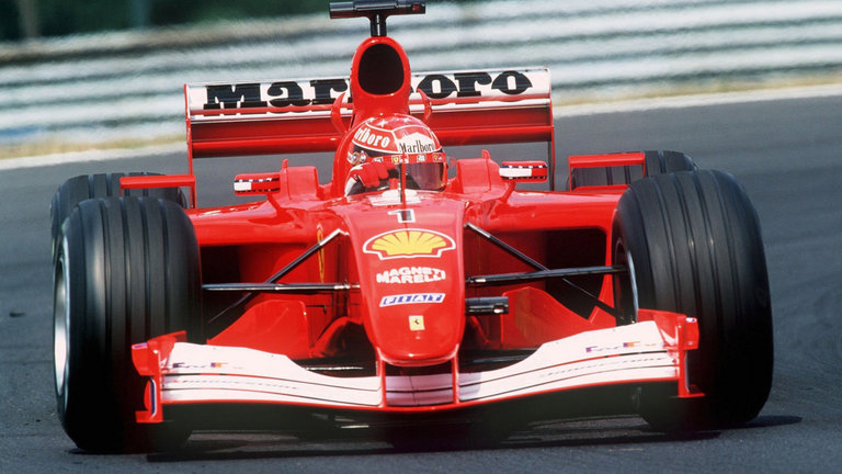 2001 - Scuderia Ferrari Marlboro