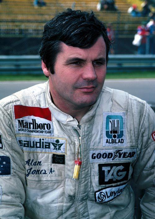 1980 World Champion - Alan Jones (Australia)