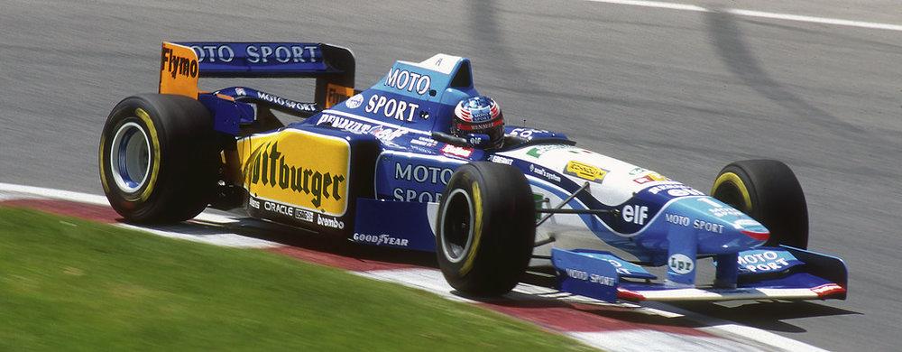 1995 - Mild Seven Benetton Renault