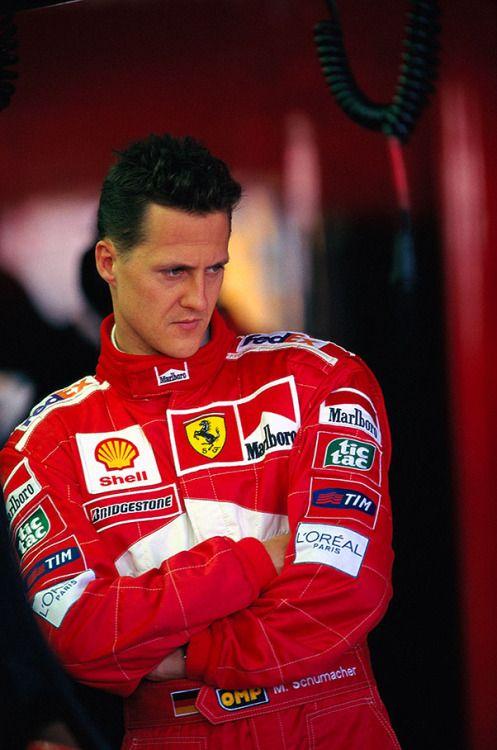 2000 World Champion - Michael Schumacher (Germany)