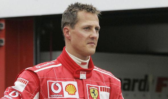 2001 World Champion - Michael Schumacher (Germany)