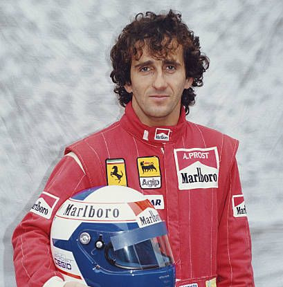 1985 World Champion - Alain Prost (France)